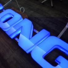 litery 3D podświetlane