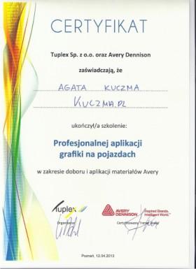 Szkoleni, certyfikowani