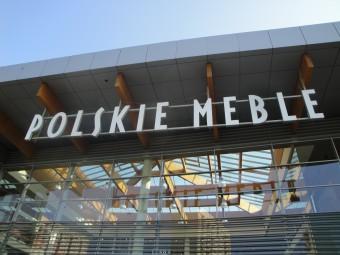 litery przestrzenne Polskie Meble
