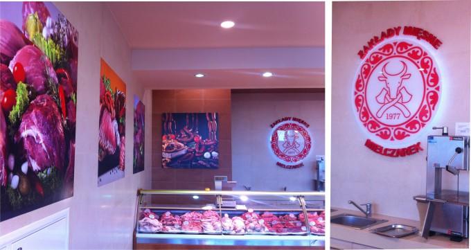 Aranżacja sklepu mięsnego
