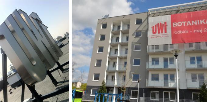 litery przestrzenne na budynek UWI