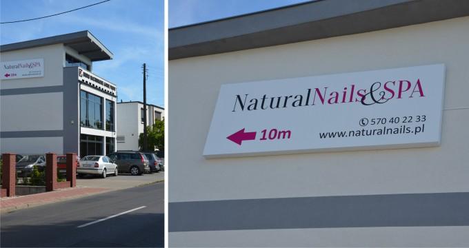 szyld na dom natural nails