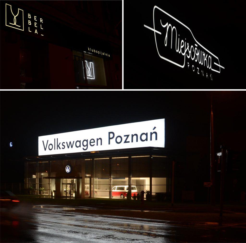 Kasetony LED Volkswagen
